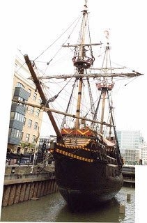 b5c8e2866b93 The Golden Hinde Replica in London