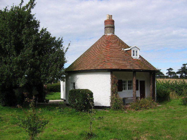 Tiny Round Home In England