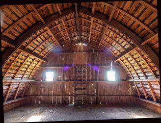 Oregon Barn Framed With 1″ Lumber