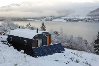 Tiny Home in Scottish Highlands