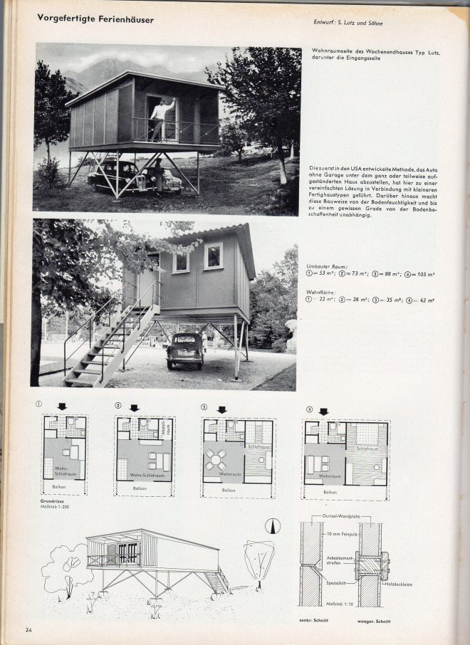 German Tiny Houses from the '50s