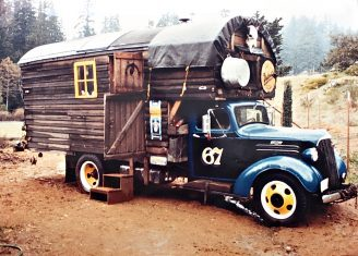1937 Chevy 1-1/2Ton Flatbed Housetruck For Family of 5