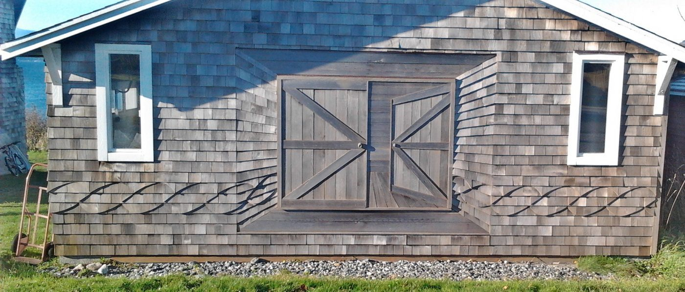 Optical Illusionary Carpentry in British Columbia