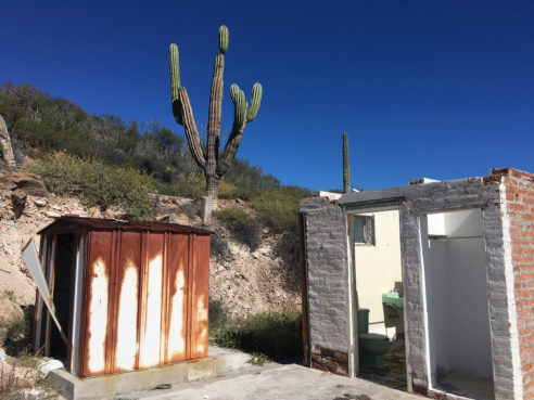 Shelter and The Whole Earth Catalog in Abandoned Baja Hacienda