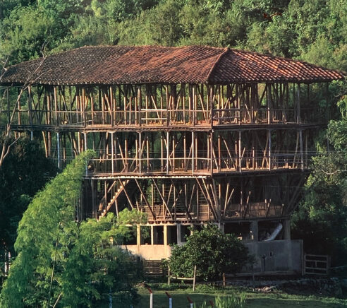 Bamboo Building in Colombia