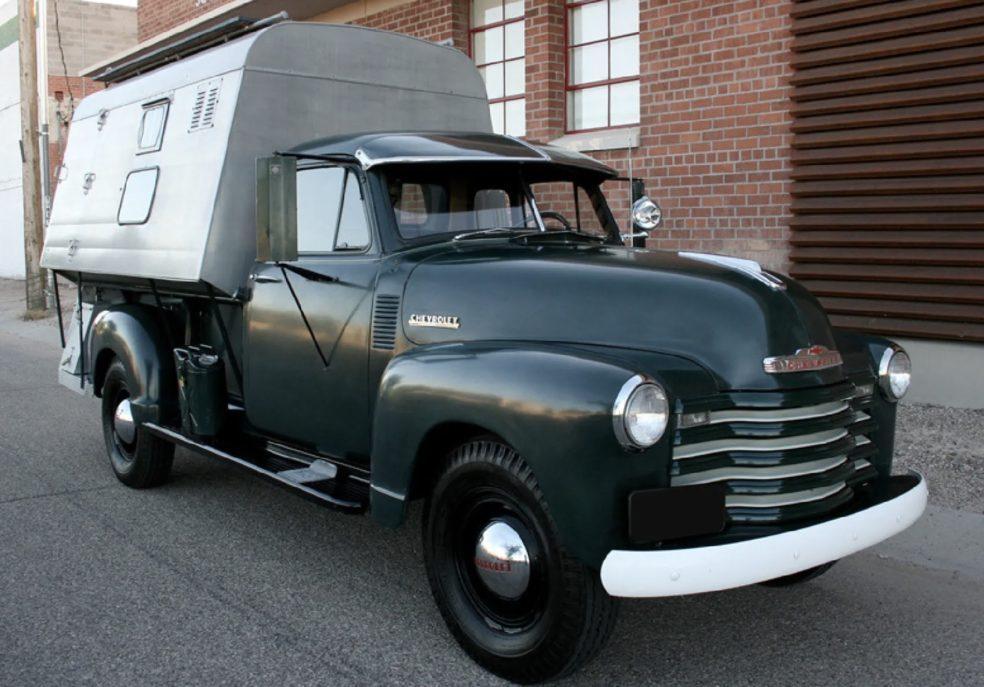 Steve McQueen's 1952 Chevrolet 3800 Camper Truck
