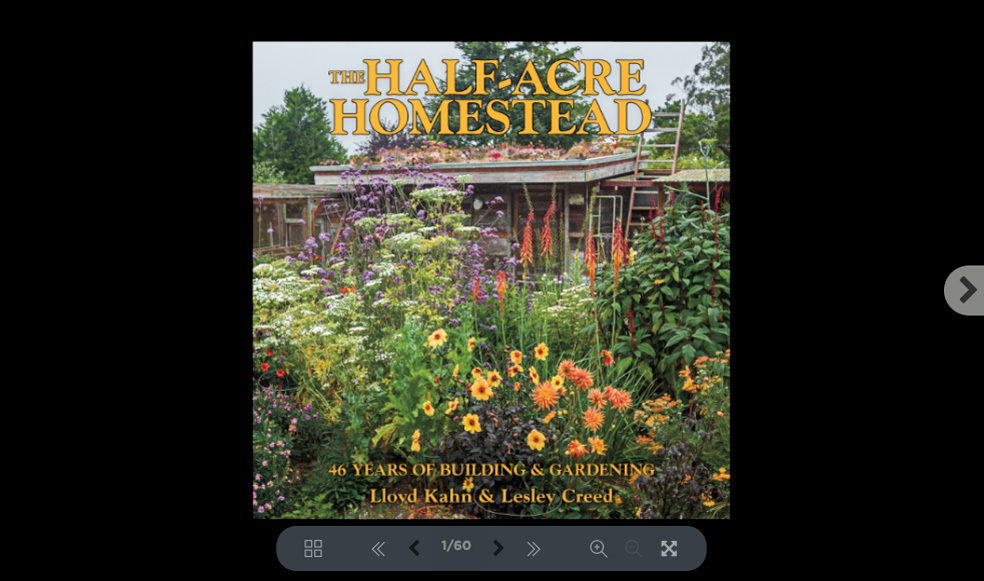 Sneak Preview of The Half-Acre Homestead (60 Pages)