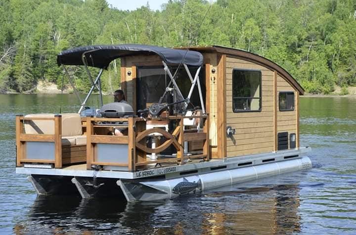 Tiny Home On Boat Lloyd S Blog Let me see ya touch the ground! tiny home on boat lloyd s blog
